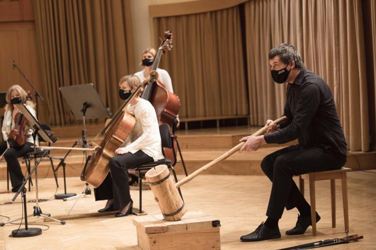 Lokostrelci orkestra, foto: Darja Štravs Tisu