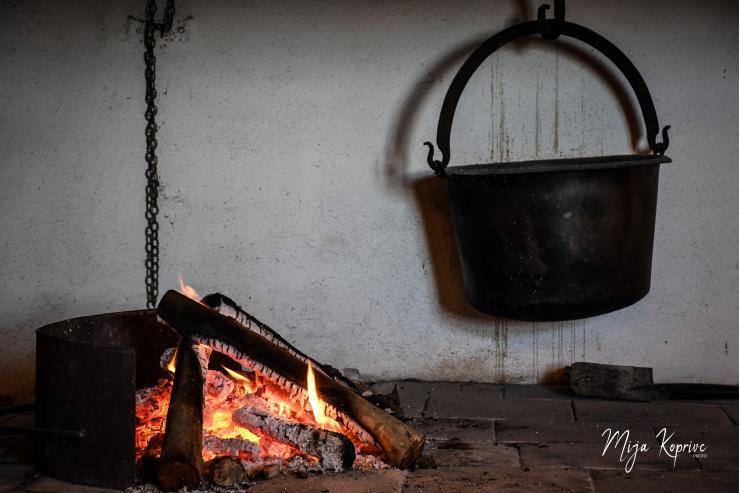 Grajska kuhinja, foto: Mija Koprivc
