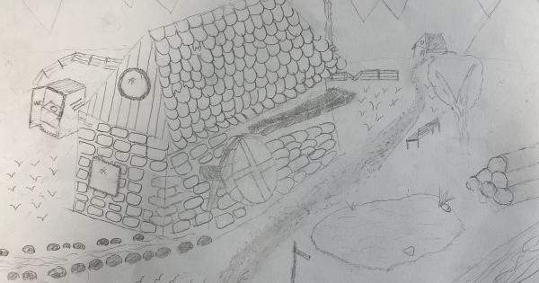 Avtorji risb so učenci 6. razreda OS Oskarja Kovačiča.