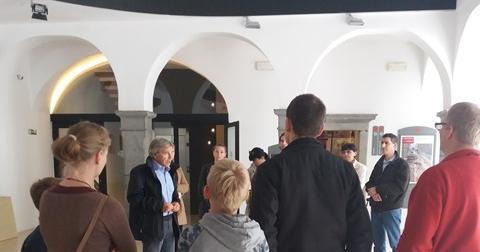 Voden ogled z muzejskim arheologom Martinom Horvatom