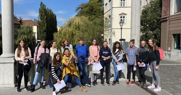 Literarni sprehod po Ljubljani