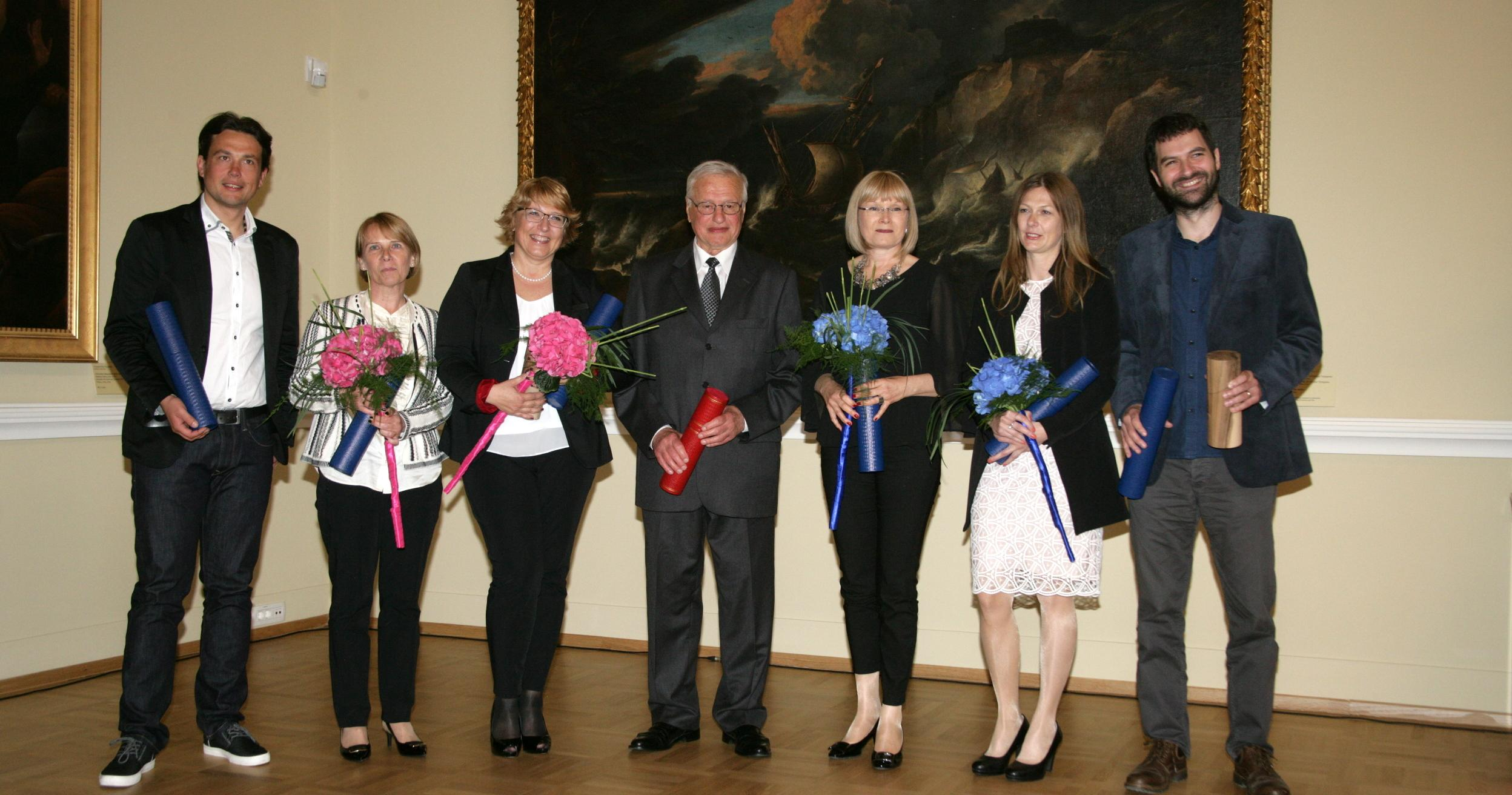 The Slovenian Conservation Society presented the Stele Award and Commendations