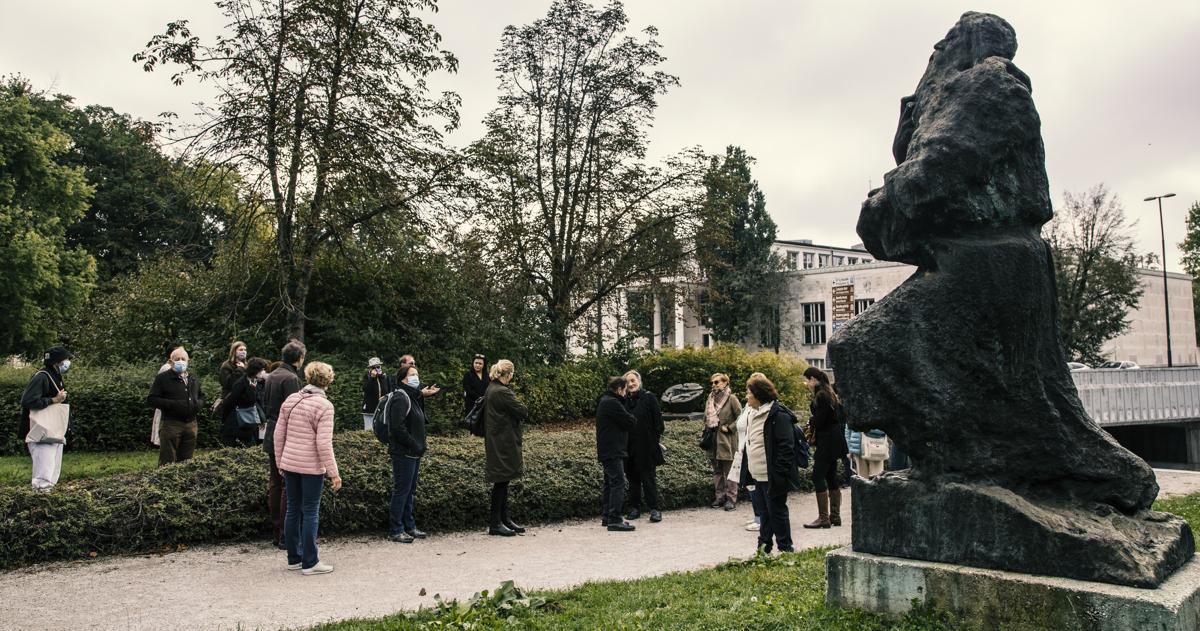 Razkrivanje kiparske dediščine parka Tivoli