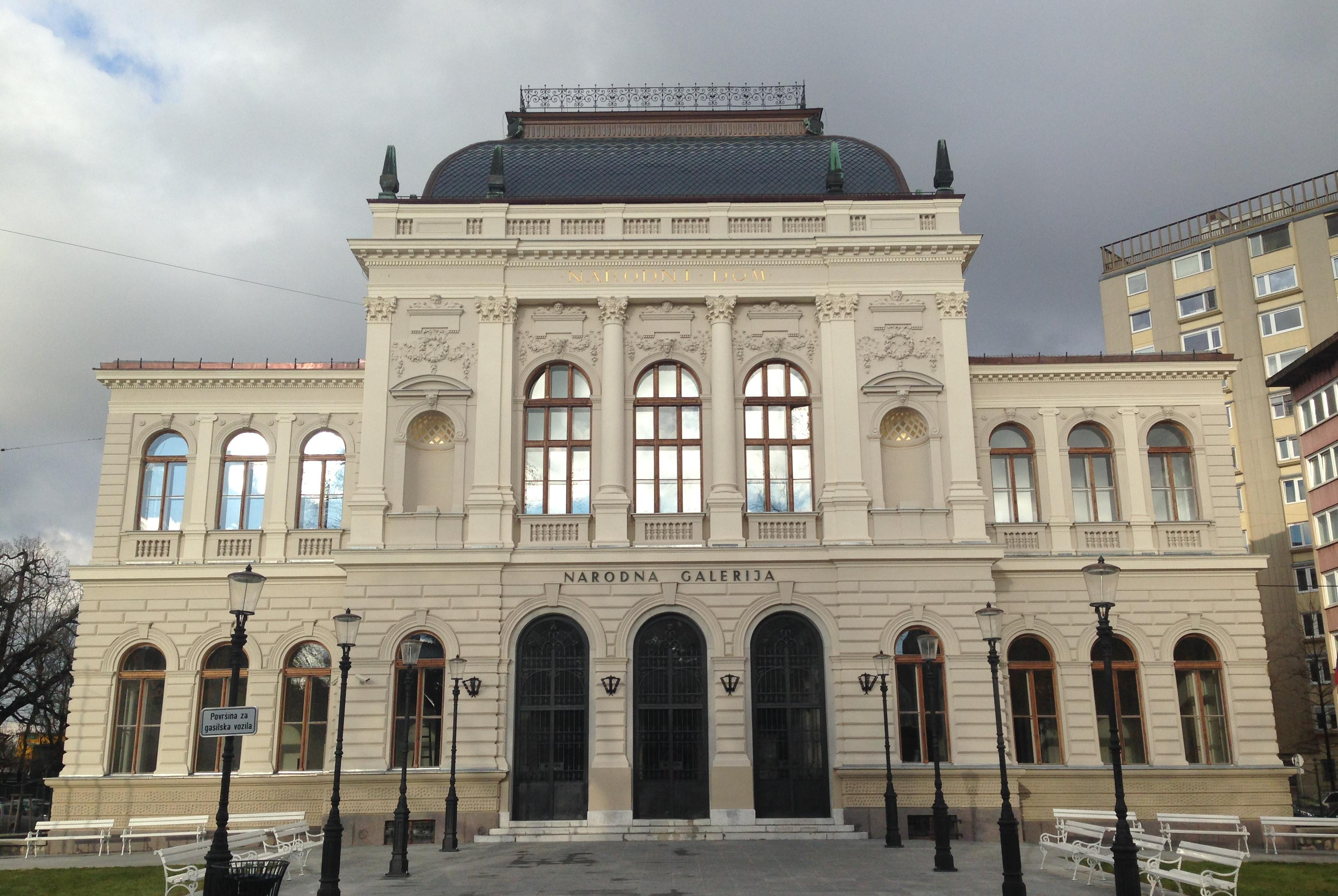 Ljubljana, the National Gallery