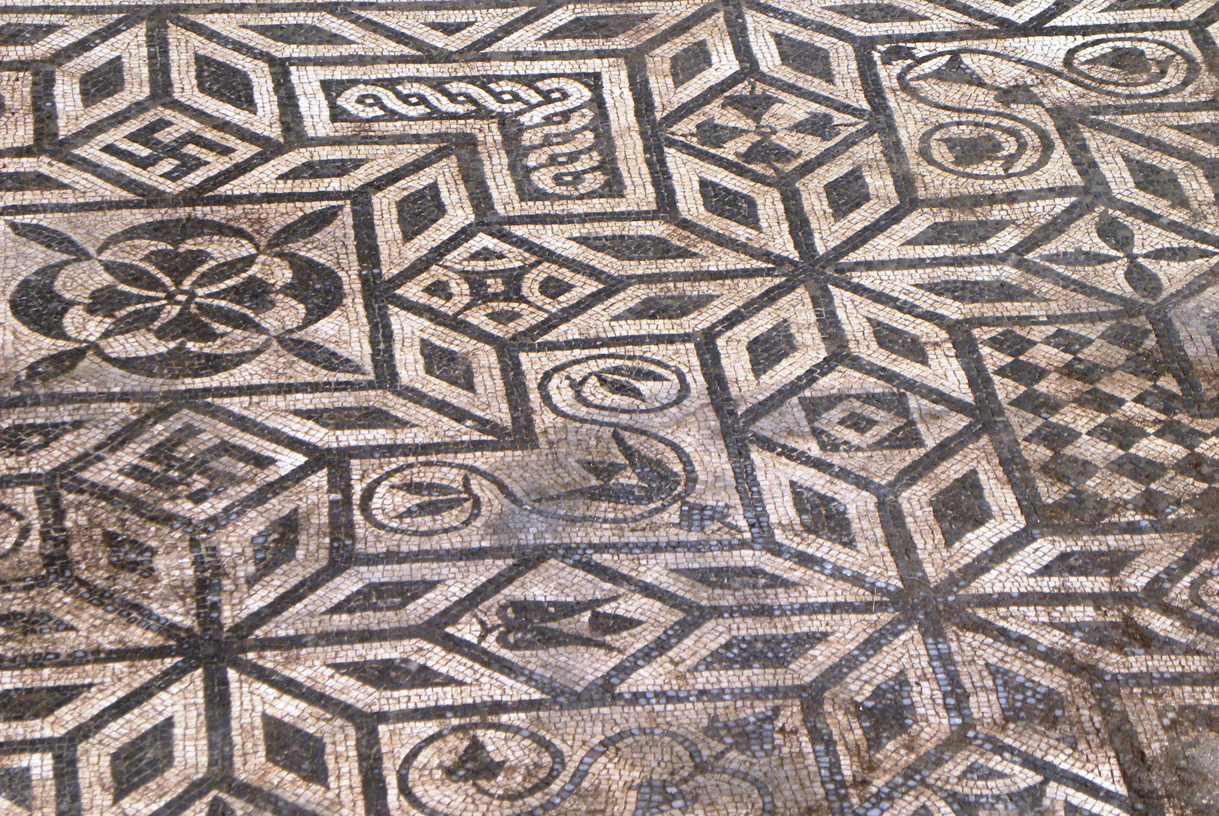 Celje, ancient mosaics