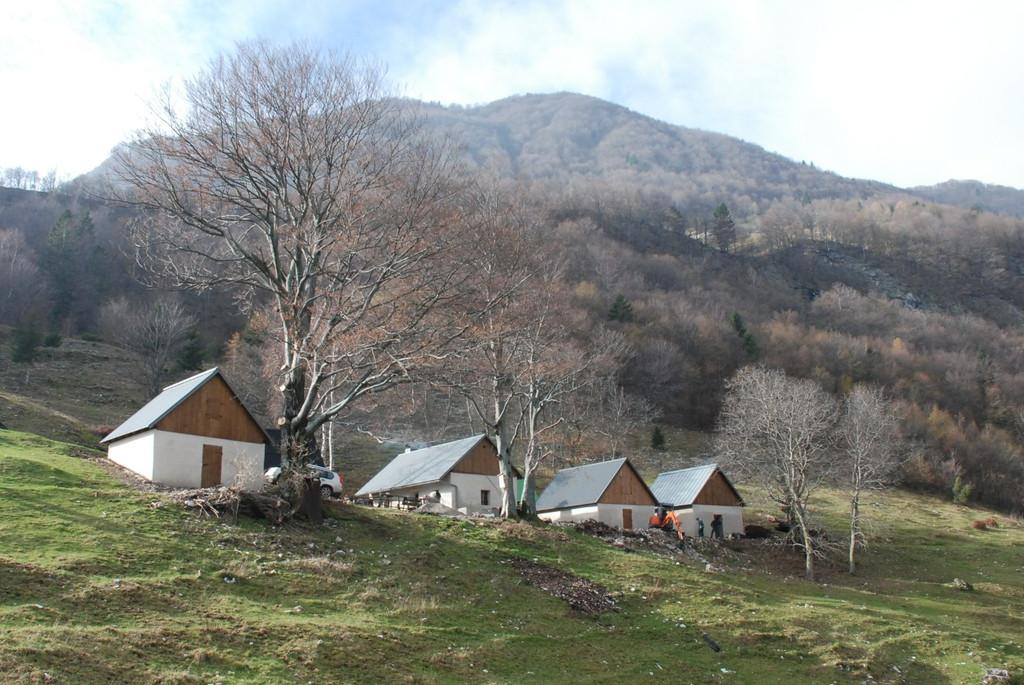 Laška seč, shepherd's mountain lodge