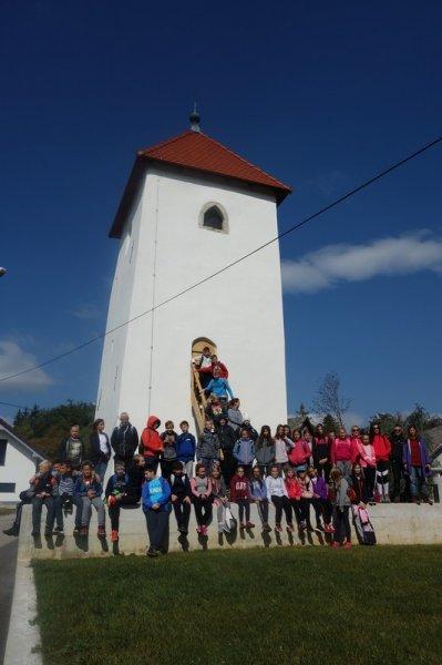 Plezanje na uskoški razgledni stolp