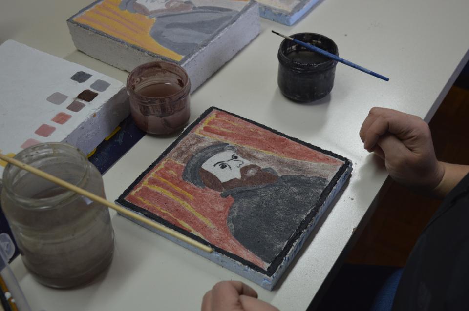 Freska - Renesančni portret
