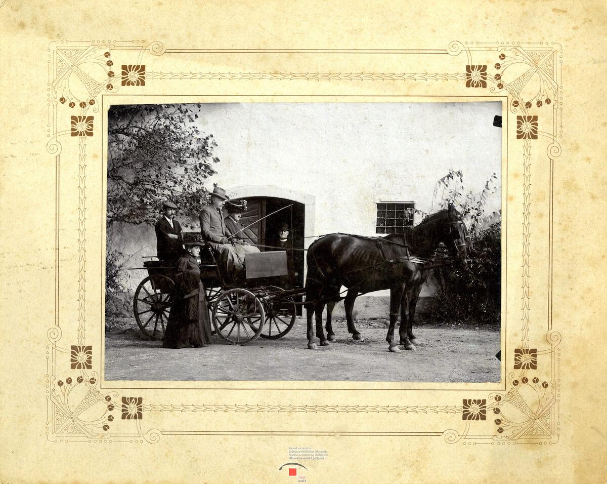 Stara fotografija s konca 19.st. lokacija neznana