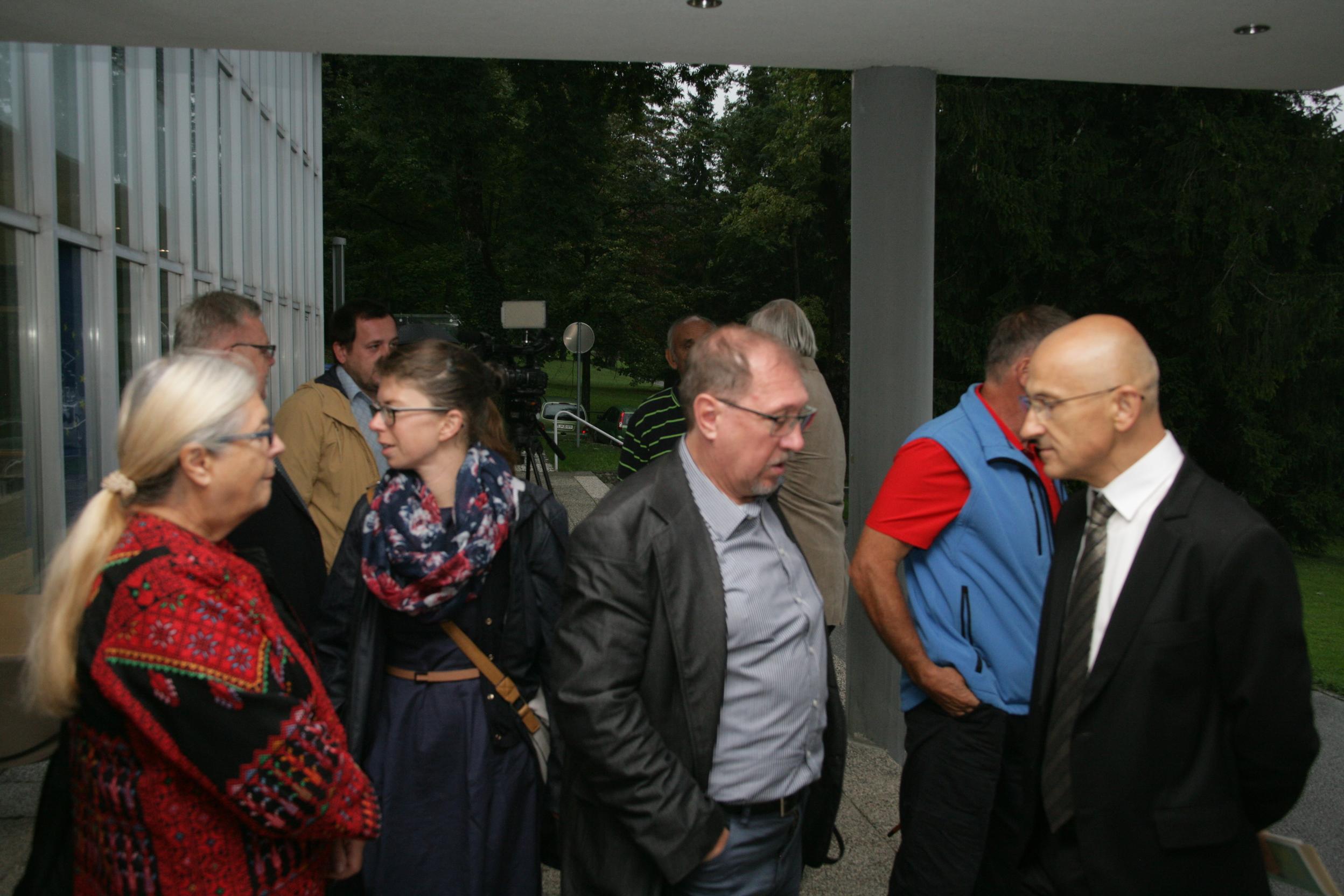 Gojko Zupan in Jernej Hudolin