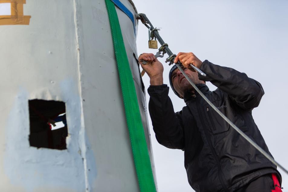 Odstranjevanje jeklenic (foto:Vizualist)