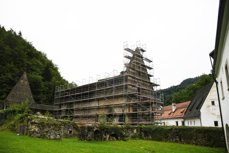 Gradbeni odri in Z fasada