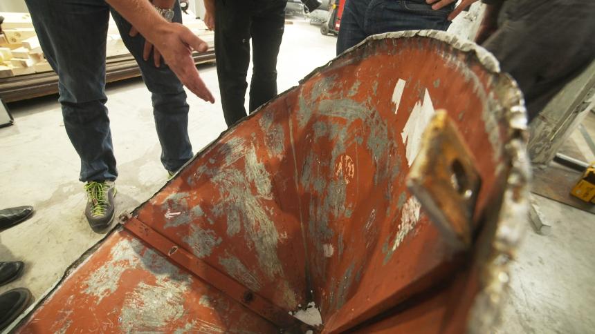Posvet o poškodovanosti strehe in možnosti njene ohranitve. (foto: Vizualist, Rožle Bregar)