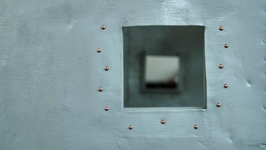 Prenovljeno okence. (foto: Vizualist, Rožle Bregar)