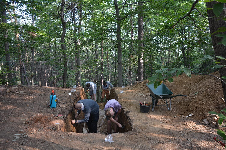 Heriterra Arheološka izkopavanja Foto: Anja Vintar ZVKDS
