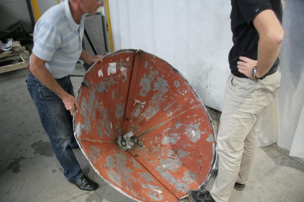 Pregled stanja strehe za določitev končne izvedbe postopka restavriranja (ZVKDS RC – V. Benedik).