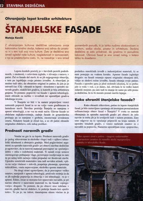 Štanjelske fasade: ohranjanje lepot kraške arhitekture