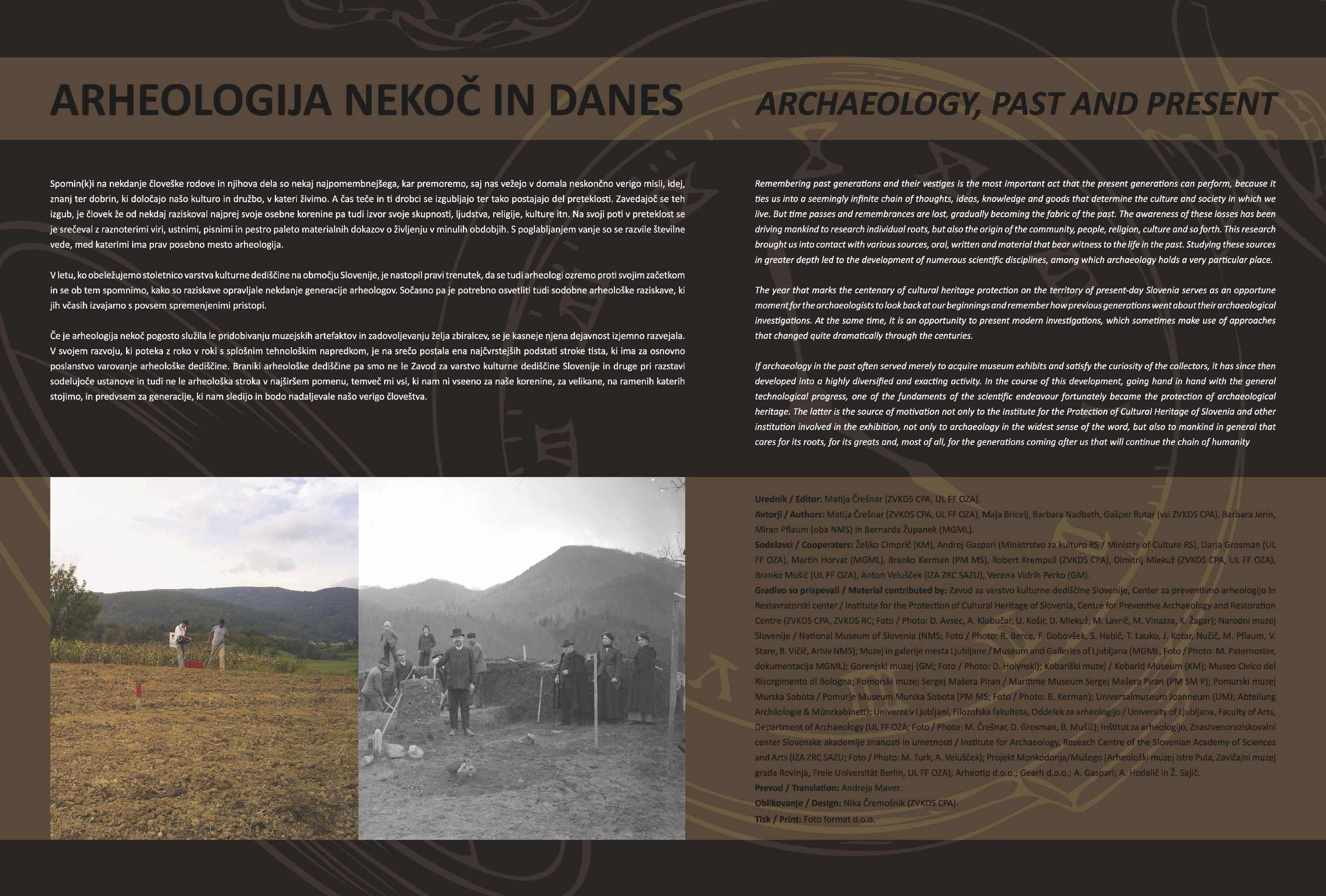 Arheologija nekoč in danes